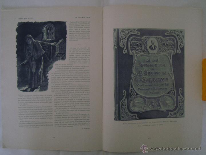 Coleccionismo de Revistas y Periódicos: REVISTA MODERNISTA HISPANIA N.88.OCTUBRE 1902.HERMENEGILDO MIRALLES.MUY ILUSTRADA - Foto 3 - 47862561