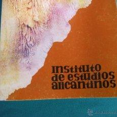 Coleccionismo de Revistas y Periódicos: REVISTA INSTITUTO DE ESTUDIOS ALICANTINOS Nº 19. ALICANTE.. Lote 47900004