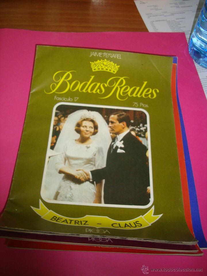 Coleccionismo de Revistas y Periódicos: LOTE 5 REVISTAS BODAS REALES Y FAMOSAS - Foto 2 - 47949296
