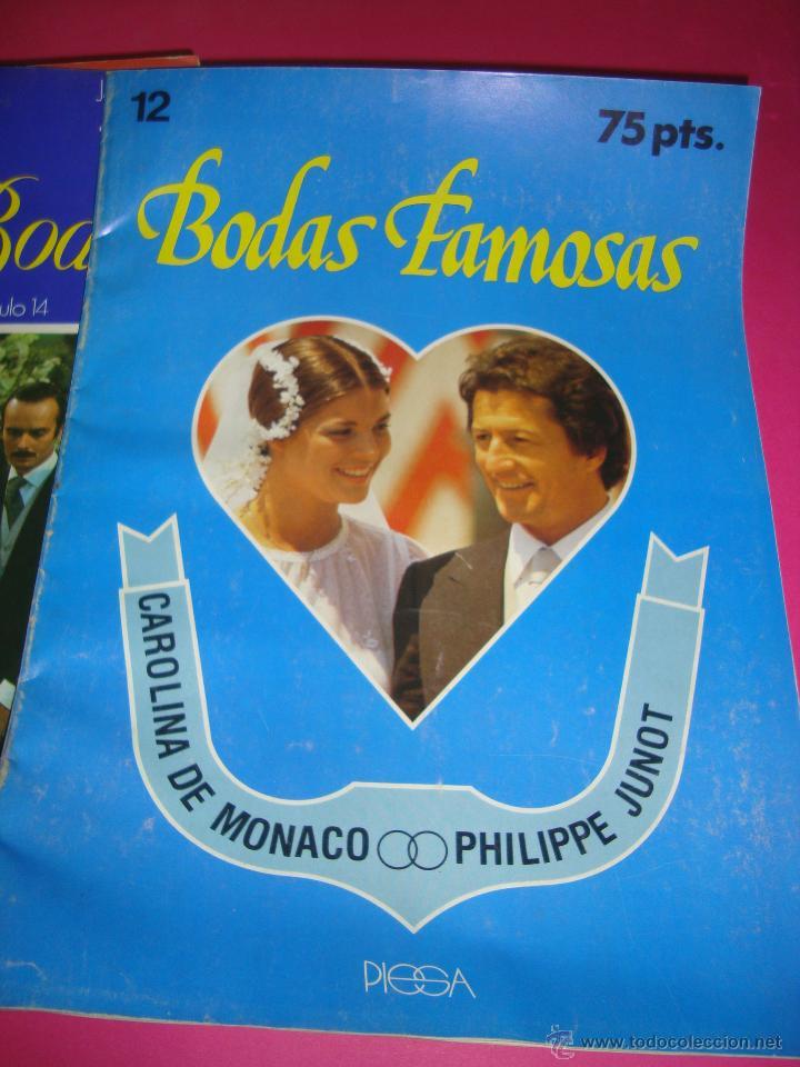 Coleccionismo de Revistas y Periódicos: LOTE 5 REVISTAS BODAS REALES Y FAMOSAS - Foto 4 - 47949296