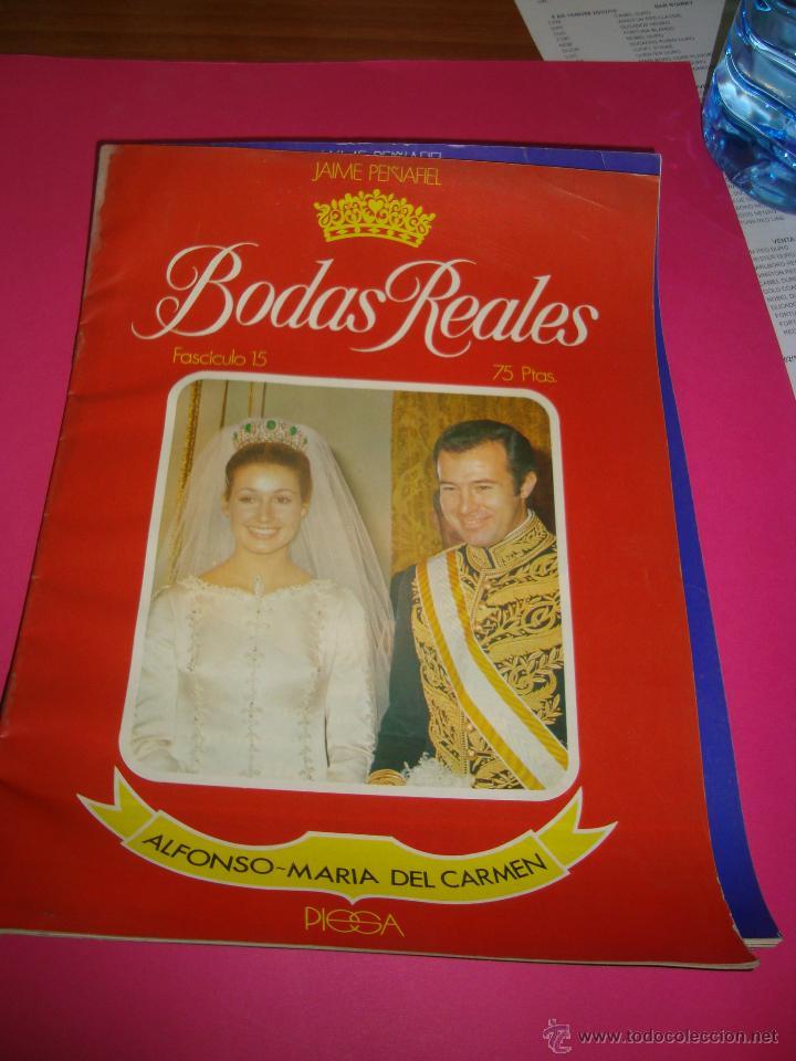 Coleccionismo de Revistas y Periódicos: LOTE 5 REVISTAS BODAS REALES Y FAMOSAS - Foto 5 - 47949296