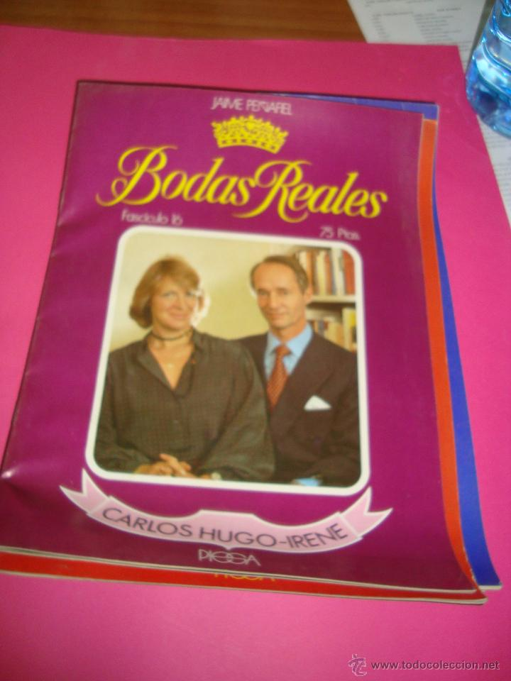 Coleccionismo de Revistas y Periódicos: LOTE 5 REVISTAS BODAS REALES Y FAMOSAS - Foto 6 - 47949296