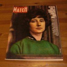 Coleccionismo de Revistas y Periódicos: PARIS MATCH 710 NOVIEMBRE 1962-GERALDINE CHAPLIN-CONFLICTO CUBA FOTOS BASES RUSAS-HERMANOS KENNEDY. Lote 48010173