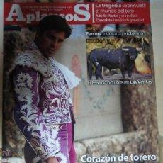 Coleccionismo de Revistas y Periódicos: REVISTA APLAUSOS AÑO 2012 Nº,1827 CORAZON DE TORERO PAQUIRRI.. Lote 48115199