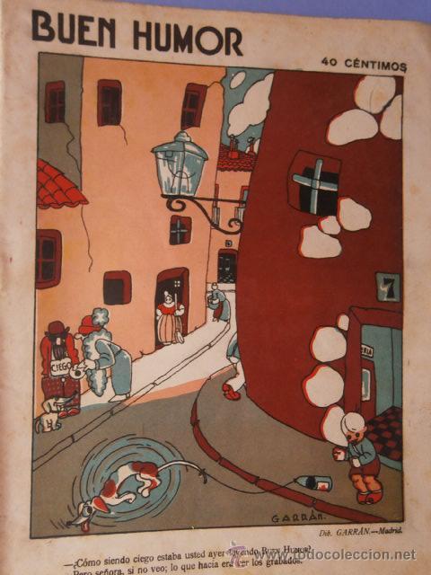REVISTA EL BUEN HUMOR MAYO 1926 Nº232 (Coleccionismo - Revistas y Periódicos Antiguos (hasta 1.939))