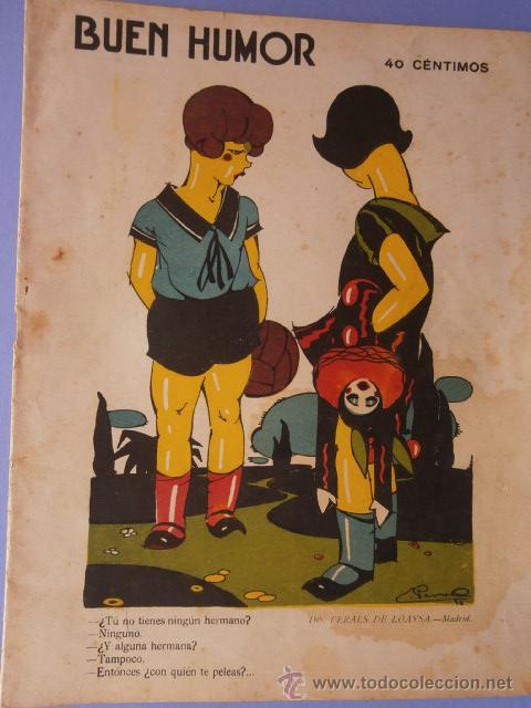 REVISTA BUEN HUMOR MAYO 1926 Nº234 (Coleccionismo - Revistas y Periódicos Antiguos (hasta 1.939))