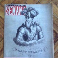 Coleccionismo de Revistas y Periódicos: REVISTA SEMANA 1941.. Lote 48192147