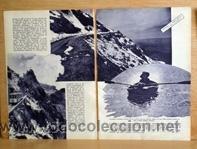 Coleccionismo de Revistas y Periódicos: Sierra Nevada, Granada, en 1935 en recorte (R2413) 3 páginas revista Blanco y Negro 12 mayo 1935 - Foto 2 - 48212699