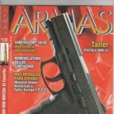 Coleccionismo de Revistas y Periódicos: 1 REVISTA ARMAS AÑO XXII Nº 269. Lote 48220930