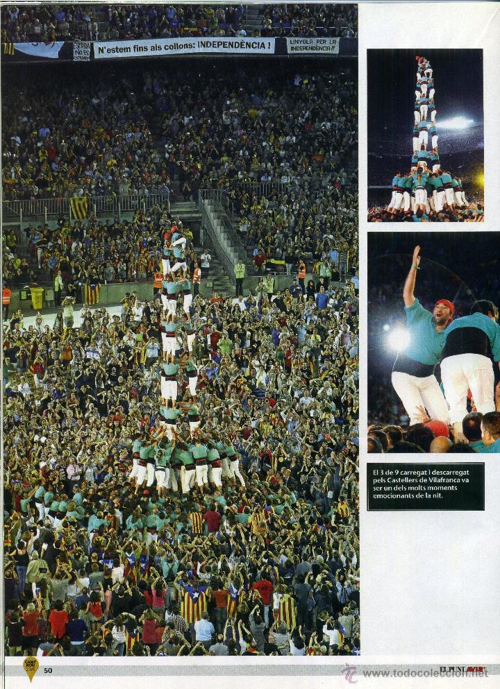 Coleccionismo de Revistas y Periódicos: El álbum del 29-J [El Punt Avui][Las mejores imágenes del concierto por la libertad] - Foto 3 - 48240994