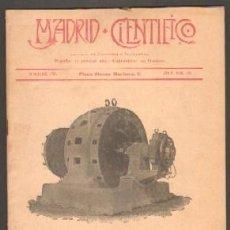 Coleccionismo de Revistas y Periódicos: MADRID CIENTÍFICO, REVISTA DE CIENCIAS E INDUSTRIAS. AÑO X,NÚM.429. 10-OCTUBRE-1903. Lote 48255522