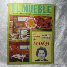 Coleccionismo de Revistas y Periódicos: REVISTA EL MUEBLE - MARZO 1968 - Nº 75. Lote 48280272