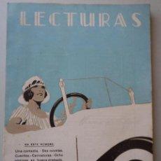 Coleccionismo de Revistas y Periódicos: REVISTA LECTURAS - AÑO II - NÚMERO 16 - SEPTIEMBRE 1922 . Lote 48318698