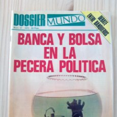 Coleccionismo de Revistas y Periódicos: DOSSIER MUNDO. NÚMERO 51, 1975. Lote 48322415