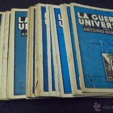 Coleccionismo de Revistas y Periódicos: COLECCION COMPLETA. LA GUERRA UNIVERSAL. DEL 1 AL 41. ANTONIO GUARDIOLA. MEDITERRANEO.. Lote 48335757