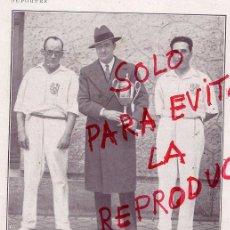 Coleccionismo de Revistas y Periódicos: PELOTA A PALA 1928 GANADORES HOJA REVISTA. Lote 48357872