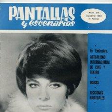 Coleccionismo de Revistas y Periódicos: PANTALLAS Y ESCENARIOS - 1969 - MARILÙ TOLO. Lote 48408492