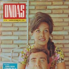 Coleccionismo de Revistas y Periódicos: ONDAS - Nº 358 - NOVIEMBRE 1967 - GEMMA CUERVO & FERNANDO GUILLÉN. Lote 48428677