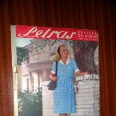 Coleccionismo de Revistas y Periódicos: LETRAS. REVISTA DEL HOGAR. ABRIL 1946. Lote 48438487