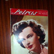Coleccionismo de Revistas y Periódicos: LETRAS. REVISTA DEL HOGAR. ABRIL 1947. Lote 48438531