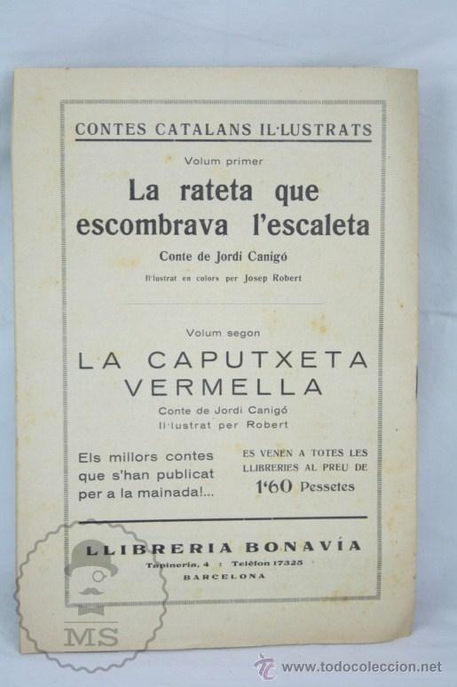 Coleccionismo de Revistas y Periódicos: Antigua Publicación Teatro Catalán, Años 30 - La Escena Catalana Nº 299. El Procés de Mary Dugan - Foto 4 - 109771119