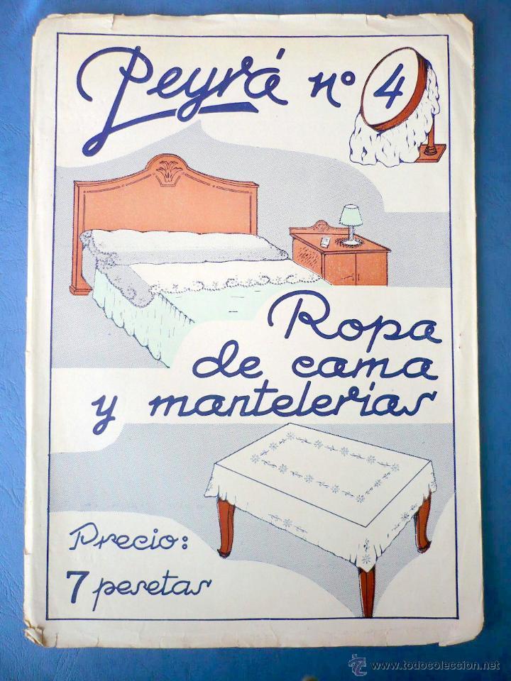 ropa de cama y mantelerias patrones bordados ál - Comprar Otras ...