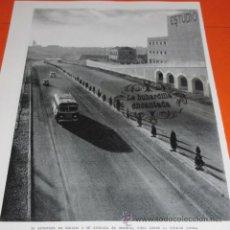 Coleccionismo de Revistas y Periódicos: MADRID 1954 - AUTOPISTA BARAJAS DESDE CIUDAD LINEAL / CALLE FRANCISCO SIVELA - FRANCISCO CATALA ROCA. Lote 48478369