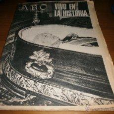Coleccionismo de Revistas y Periódicos: ABC - VIERNES 21 DE NOVIEMBRE DE 1975 - MADRID -VIVO EN LA HISTORIA - 8 PESETAS.. Lote 48481165