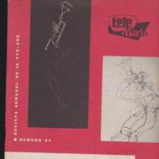 Coleccionismo de Revistas y Periódicos: TELE DIARIO Nº 64 MARZO 1959 ( TELE RADIO ). Lote 48517473