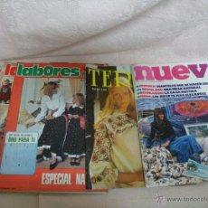 Coleccionismo de Revistas y Periódicos: LABORES DEL HOGAR, TERESA Y NUEVA. LOTE DE REVISTAS DE MODA-HOGAR. Lote 48562977