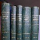 Coleccionismo de Revistas y Periódicos: 5 VOLS. REVISTA DEL INSTITUTO CATALÁN DE SANT ISIDRO. 1890-1899. DIEZ AÑOS COMPLETOS. (SANT ISIDRE). Lote 48617517