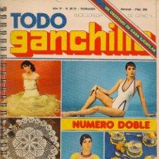 Coleccionismo de Revistas y Periódicos: * CROCHET * REVISTA TODO GANCHILLO Nº 30-31 - AÑOS 70 . Lote 48657211
