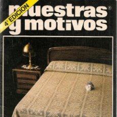 Coleccionismo de Revistas y Periódicos: * CROCHET * GANCHILLO * REVISTA MUESTRAS Y MOTIVOS Nº 3 - AÑOS 80. Lote 48657631