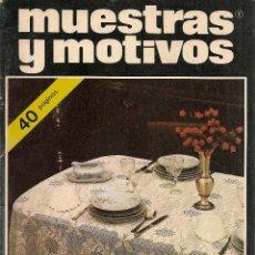 Coleccionismo de Revistas y Periódicos: * CROCHET * GANCHILLO * REVISTA MUESTRAS Y MOTIVOS Nº 8 - AÑOS 80. Lote 128301370