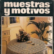 Coleccionismo de Revistas y Periódicos: * CROCHET * GANCHILLO * REVISTA MUESTRAS Y MOTIVOS Nº 14 - AÑOS 80. Lote 48657711