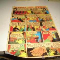 Coleccionismo de Revistas y Periódicos: M-7 LAMINA DICK TRACY CAJA-30 COMO SE VE EN FOTO. Lote 48664660