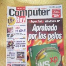 Coleccionismo de Revistas y Periódicos: REVISTA COMPUTER HOY Nº 85 AÑO 2002. Lote 48689115