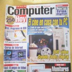 Coleccionismo de Revistas y Periódicos: REVISTA COMPUTER HOY Nº 36 AÑO 2000. Lote 48689179