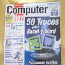 Coleccionismo de Revistas y Periódicos: REVISTA COMPUTER HOY Nº 97 AÑO 2002. Lote 48689600