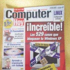 Coleccionismo de Revistas y Periódicos: REVISTA COMPUTER HOY Nº 86 AÑO 2002. Lote 48689628