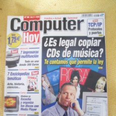 Coleccionismo de Revistas y Periódicos: REVISTA COMPUTER HOY Nº 98 AÑO 2002. Lote 48689714