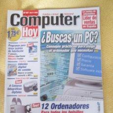 Coleccionismo de Revistas y Periódicos: REVISTA COMPUTER HOY Nº 107 AÑO 2002. Lote 48689731
