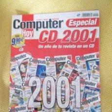Coleccionismo de Revistas y Periódicos: REVISTA COMPUTER HOY ESPECIAL CD 2001. Lote 48689832
