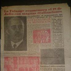 Coleccionismo de Revistas y Periódicos: YUGO NUMERO EXTRAORDINARIO 18 JULIO 1950. Lote 48726411
