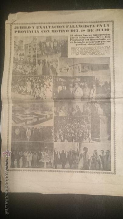 Coleccionismo de Revistas y Periódicos: YUGO NUMERO EXTRAORDINARIO 18 JULIO 1950 - Foto 2 - 48726411