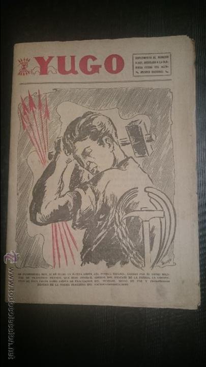 YUGO SUPLEMENTO DEDICADO ALZAMIENTO NACIONAL (Coleccionismo - Revistas y Periódicos Modernos (a partir de 1.940) - Otros)