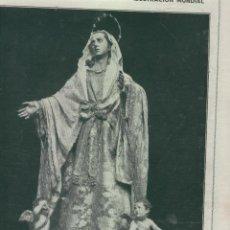Coleccionismo de Revistas y Periódicos: REVISTA AÑO 1915 SALZILLO EN MURCIA SEMANA SANTA EN SEVILLA MACARENA SAN BUENAVENTURA CACHORRO. Lote 48738791