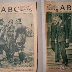 Coleccionismo de Revistas y Periódicos: 5 PORTADAS DEL ABC 1939 MES DE SEPTIEMBRE. Lote 48749639