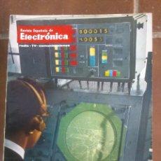 Coleccionismo de Revistas y Periódicos: REVISTA ESPAÑOLA DE ELECTRONICA. PUBLICIDAD DE EPOCA. VALVULAS, RADIOS, ETC. . Lote 48750373
