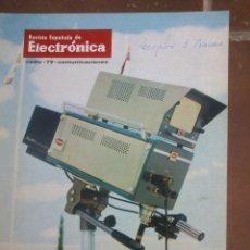 Coleccionismo de Revistas y Periódicos: REVISTA ESPAÑOLA DE ELECTRONICA. PUBLICIDAD DE EPOCA. VALVULAS, RADIOS, ETC. . Lote 48750429